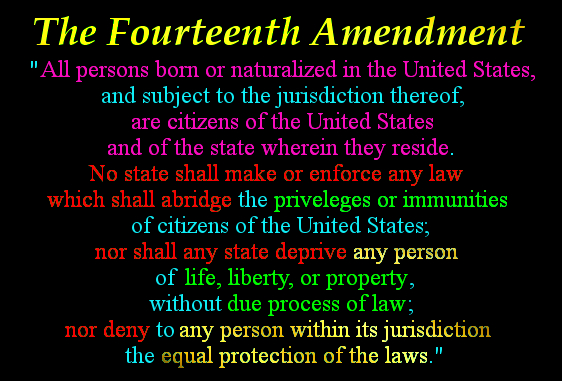 3 14th Amendment