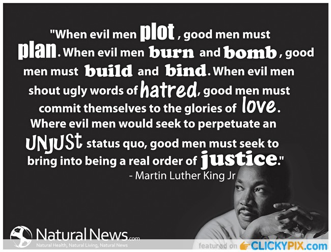 MLK what good men must do