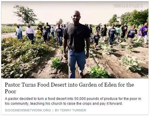 Pastor plants eden